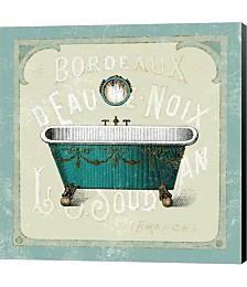 Parisian Bath IV by Sue Schlabach Canvas Art