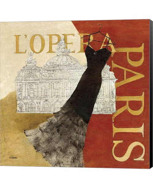 Metaverse Paris Dress - L' Opera by Albena Hristova Canvas Art