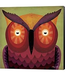 Owl WOW by Ryan Fowler Canvas Art