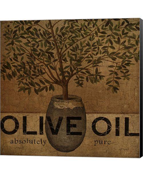 Metaverse Olive Oil by Beth Albert Canvas Art