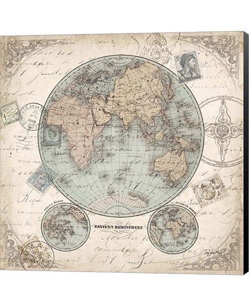 Metaverse World Hemispheres I by Tre Sorelle Studios Canvas Art