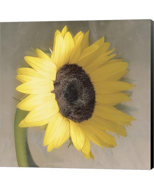 Metaverse Sunflower by Erin Clark Canvas Art