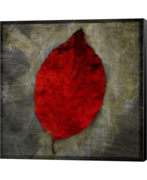 Metaverse Red Dogwood by John W. Golden Canvas Art