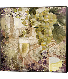 Wine Country I by Color Bakery Canvas Art