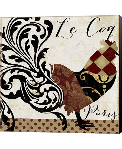 Metaverse Roosters of Paris II by Color Bakery Canvas Art