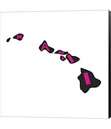 Hawaii Letters by Art Licensing Studio Canvas Art
