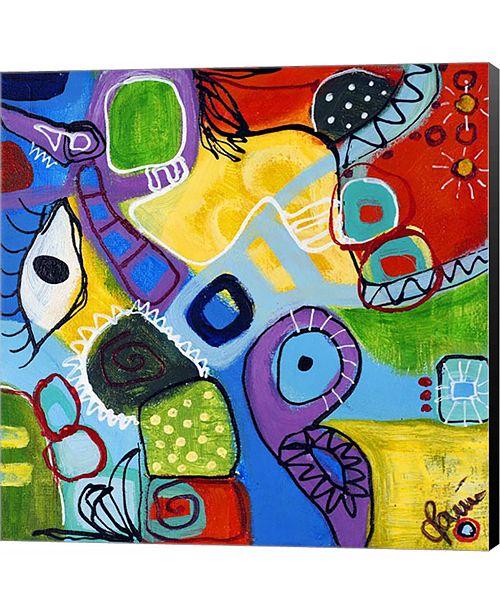 Metaverse Owl III by Joy Canvas Art