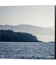 Coastal Scene I by Sue Schlabach Canvas Art