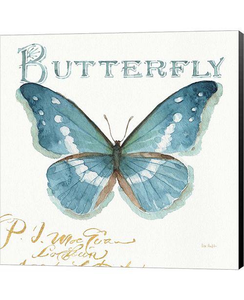 Metaverse My Greenhouse Butterflies II by Lisa Audit Canvas Art