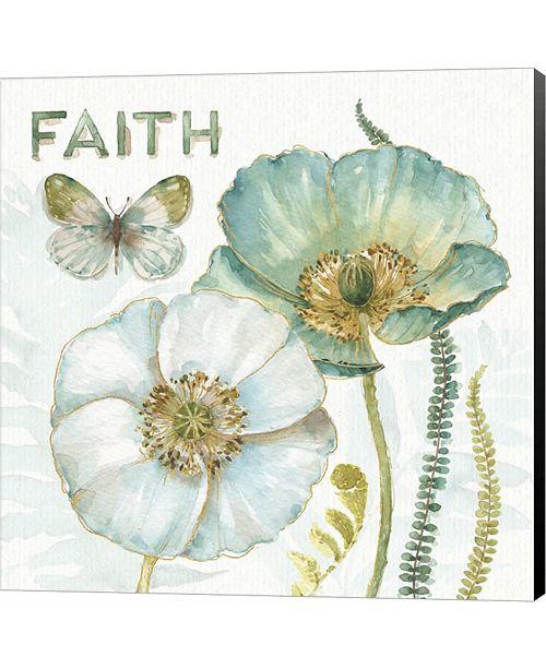 Metaverse My Greenhouse Flowers Faith by Lisa Audit Canvas Art