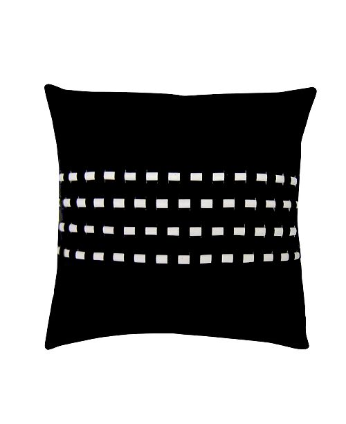 Edie@Home Edie Home Woven Cord Outdoor Pillow Collection