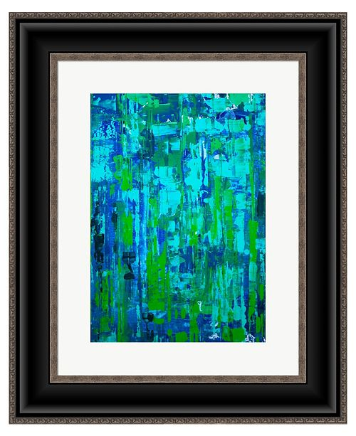 Metaverse Calm Emotions 2 by Irena Orlov Framed Art