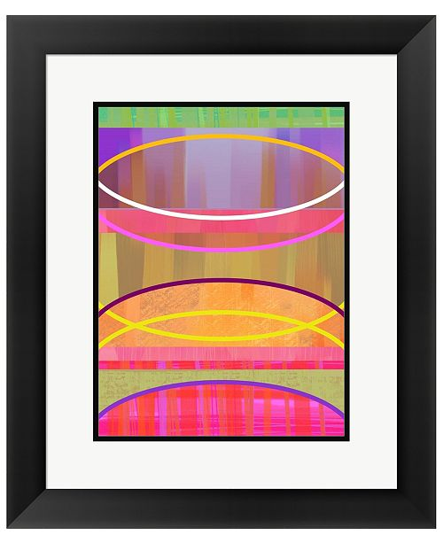 Metaverse Coaxial A by Delores Naskrent Framed Art