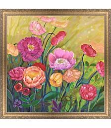 Flower Field I by Julie Joy Framed Art