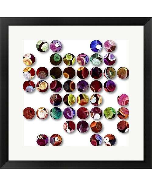 Metaverse Circles 808116 by Irena Orlov Framed Art