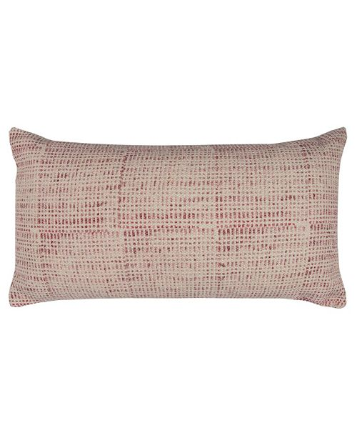 """Rizzy Home 14"""" x 26"""" Ditsy Pillow Poly Filled"""