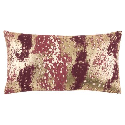 "14"" x 26"" Abstract Design Pillow Poly Filled"