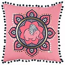"Simply Southern 18"" x 18"" Animal Print Pillow"