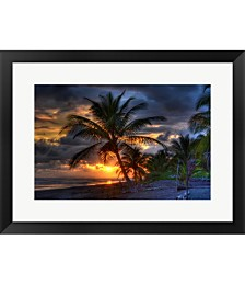 Tropical Sunset by Robert Kaler Framed Art