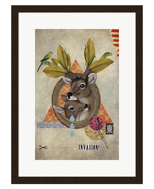 Metaverse Oh Deer by Elo Marc Framed Art