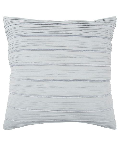 "Rizzy Home 20"" x 20"" Striped Poly Filled Pillow"