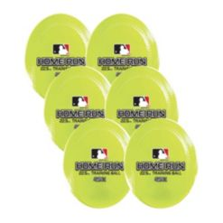 Franklin Sports Mlb 22.5 Oz. Home Run Training Ball-6 Pack