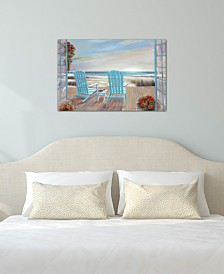 """iCanvas """"Serendipity"""" by Ruane Manning Gallery-Wrapped Canvas Print"""