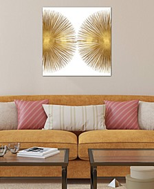 """""""Sunburst II"""" by Abby Young Gallery-Wrapped Canvas Print"""