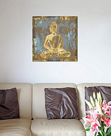 "iCanvas ""Meditating Buddha"" by Tom Bray Gallery-Wrapped Canvas Print (26 x 26 x 0.75)"