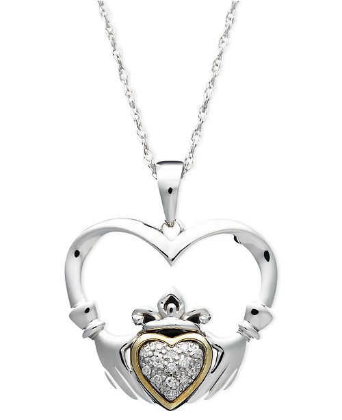 birthstone jewelry october pendant product claddagh large