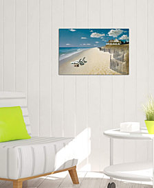 "iCanvas ""Beach House View I"" by Zhen-Huan Lu Gallery-Wrapped Canvas Print"
