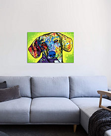 "iCanvas ""Dachshund"" by Dean Russo Gallery-Wrapped Canvas Print (18 x 26 x 0.75)"