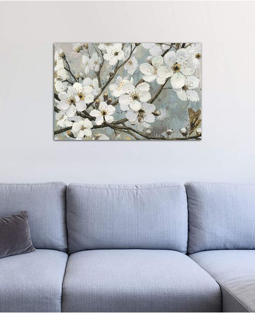 """iCanvas """"Cherry Blossoms I"""" by James Wiens Gallery-Wrapped Canvas Print (26 x 40 x 0.75)"""