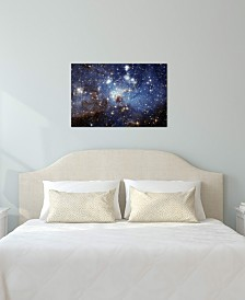 "iCanvas ""LH-95 Stellar Nursery (Hubble Space Telescope)"" by NASA Gallery-Wrapped Canvas Print"
