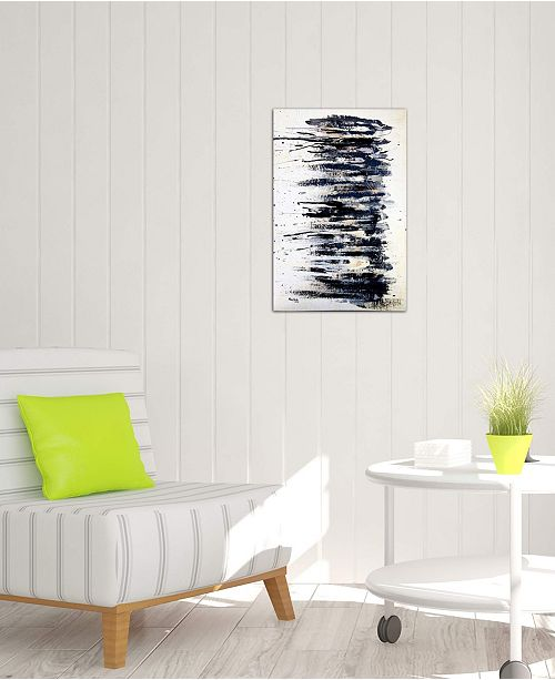 """iCanvas """"Shading in Black #2"""" by Shawn Jacobs Gallery-Wrapped Canvas Print (26 x 18 x 0.75)"""