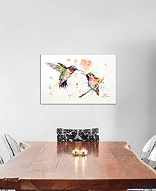 """""""Hummingbirds"""" by Dean Crouser Gallery-Wrapped Canvas Print (18 x 26 x 0.75)"""