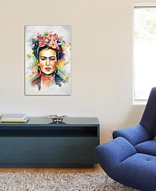 "iCanvas ""Frida Kahlo"" by Tracie Andrews Gallery-Wrapped Canvas Print (26 x 18 x 0.75)"