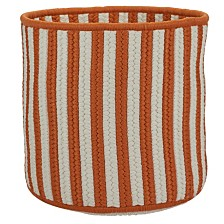 Colonial Mills Baja Stripe Braided Storage Basket