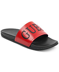 GUESS Men's Delfino Soccer Slides