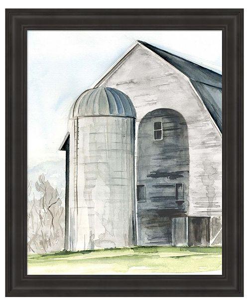 Metaverse Weathered Barn I by Jennifer Parker Framed Art