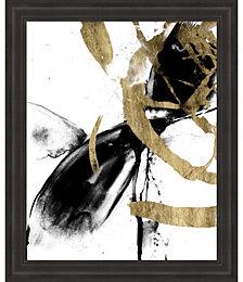 Sliced Vortex I by Jennifer Goldberger Framed Art