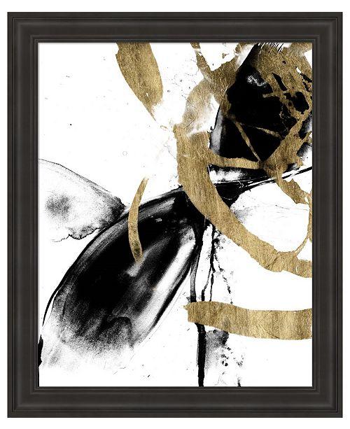 Metaverse Sliced Vortex I by Jennifer Goldberger Framed Art