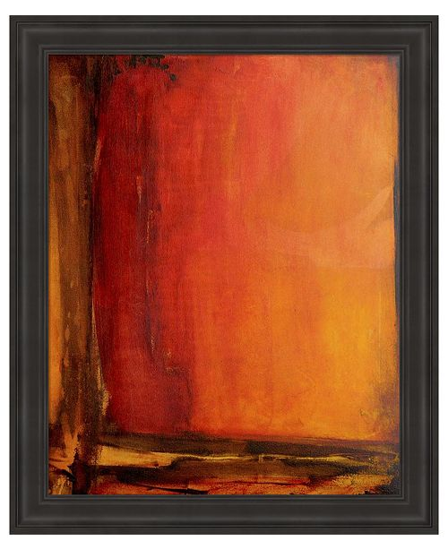 Metaverse Red Dawn II by Erin Ashley Framed Art