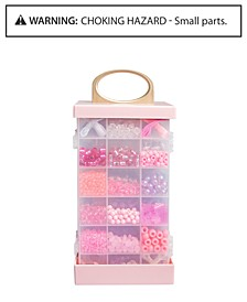 Toy Jewelry Kit with Carrying Case