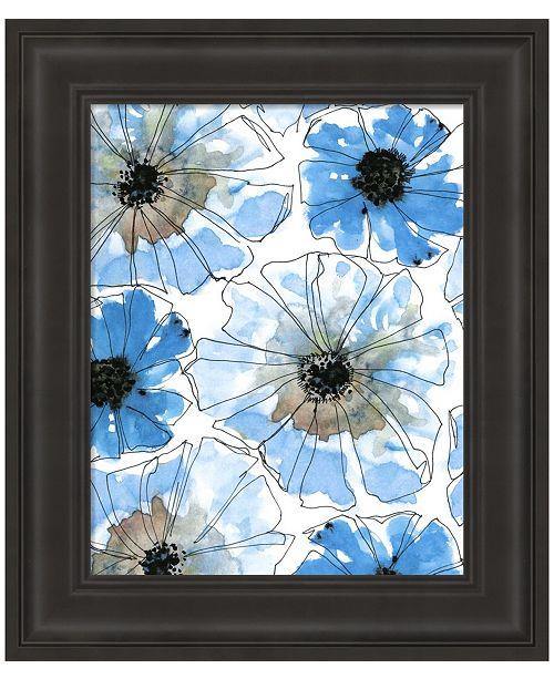 Metaverse Water Blossoms I by Deborah Velasquez Framed Art