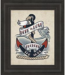 Sailor Wisdom I by Janelle Penner Framed Art