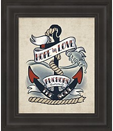 Sailor Wisdom I by Janelle Penner Framed Art