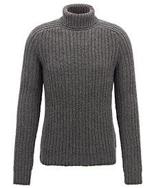 BOSS Men's Cashmere Turtleneck Sweater