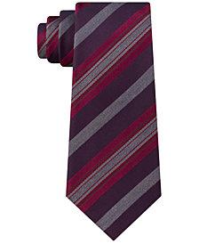 Kenneth Cole Reaction Men's Rail Stripe Slim Tie
