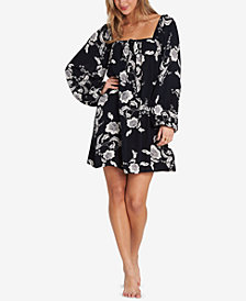 Billabong Juniors' Spring Warrior Off-The-Shoulder Dress
